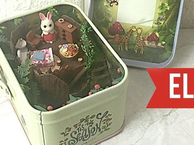 DIY Miniature Dollhouse Kit Mini Theatre Elf