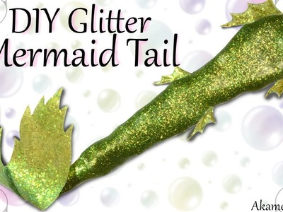 DIY Shimmery Mermaid Tail - Poseable Doll Tutorial
