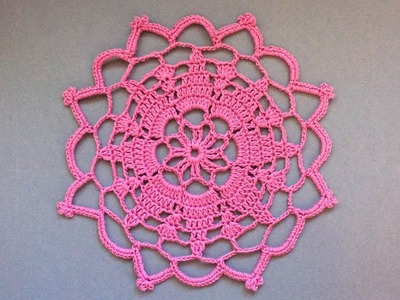 Easy Crochet Little Doily Tutorial