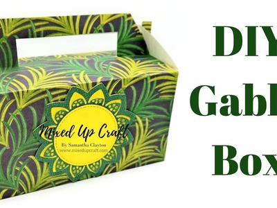 Gable Box | Lunch Box Video Tutorial | Original Design