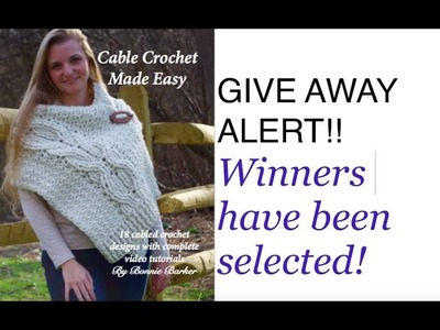 GIVE AWAY ALERT!!! Cable Crochet Made Easy