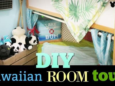 HAWAIIAN Lilo And Stitch DIY room Tour Under $400