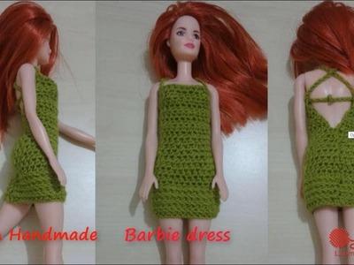 How to crochet Barbie dress