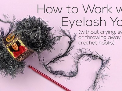 How to Crochet Eyelash Yarn