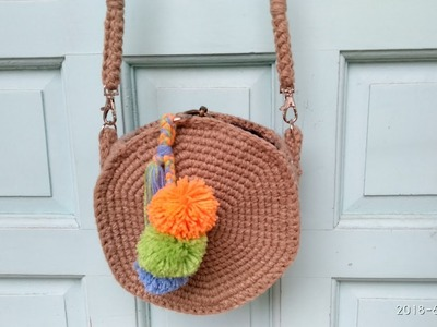 How to Crochet Straw-Inspired Bag
