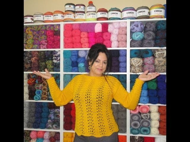 How to knit sweater or blouse