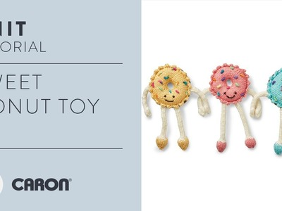 How to Knit the Sweet Knit Donut Toy
