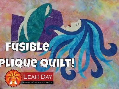 How to Make a Fusible Applique Quilt - Layer and Fuse!