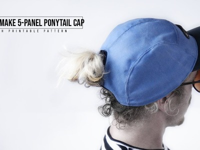 How to Make Ponytail Hat