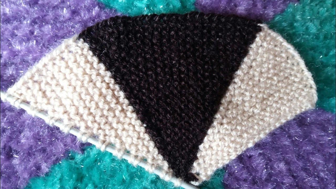 How to make round doormat (Doormat Knitting design )