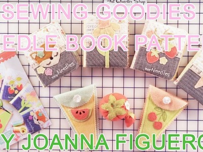 How to: Sewing Goodies Needle Book Pattern by Joanna Figueroa | Fig Tree Quilts - Fat Quarter Shop