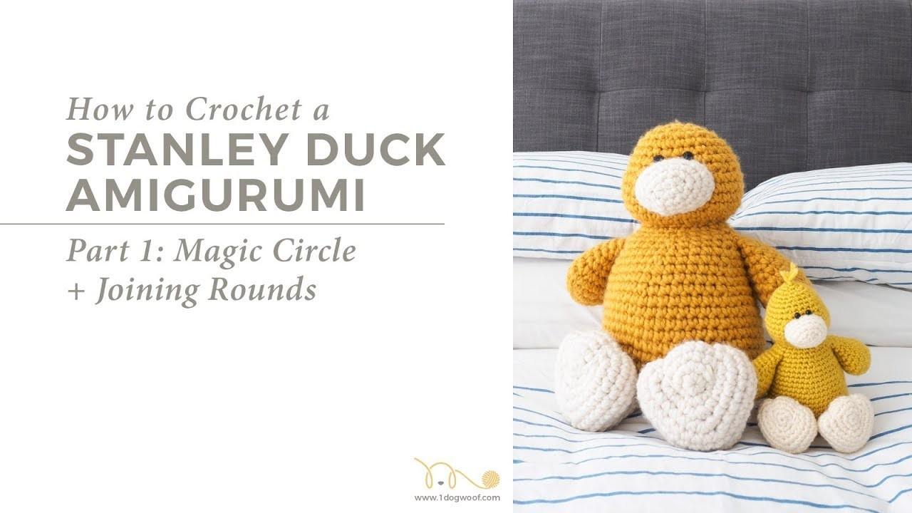 How to Start an Amigurumi: Stanley Duck Amigurumi Part 1