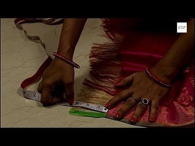 How to tye saree knot, Saree Kuchu , Tassel, saree knot tying, saree knot making, saree knot designs