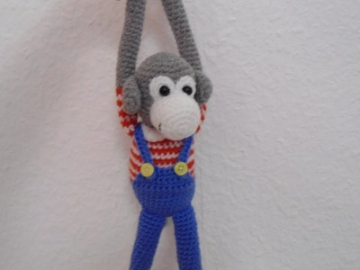 Monkey amigurumi crochet tutorial