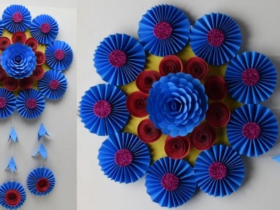 DIY home decoration idea u should try | How to make an awesome wall hanging out of papers |