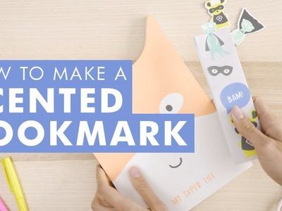 DIY Ideas - How to Make a Scented Bookmark