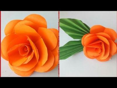 DIY PAPER FLOWER - HOW TO MAKE DIY PAPER FLOWER - EASY & SIMPLE - DIY PAPER CRAFT