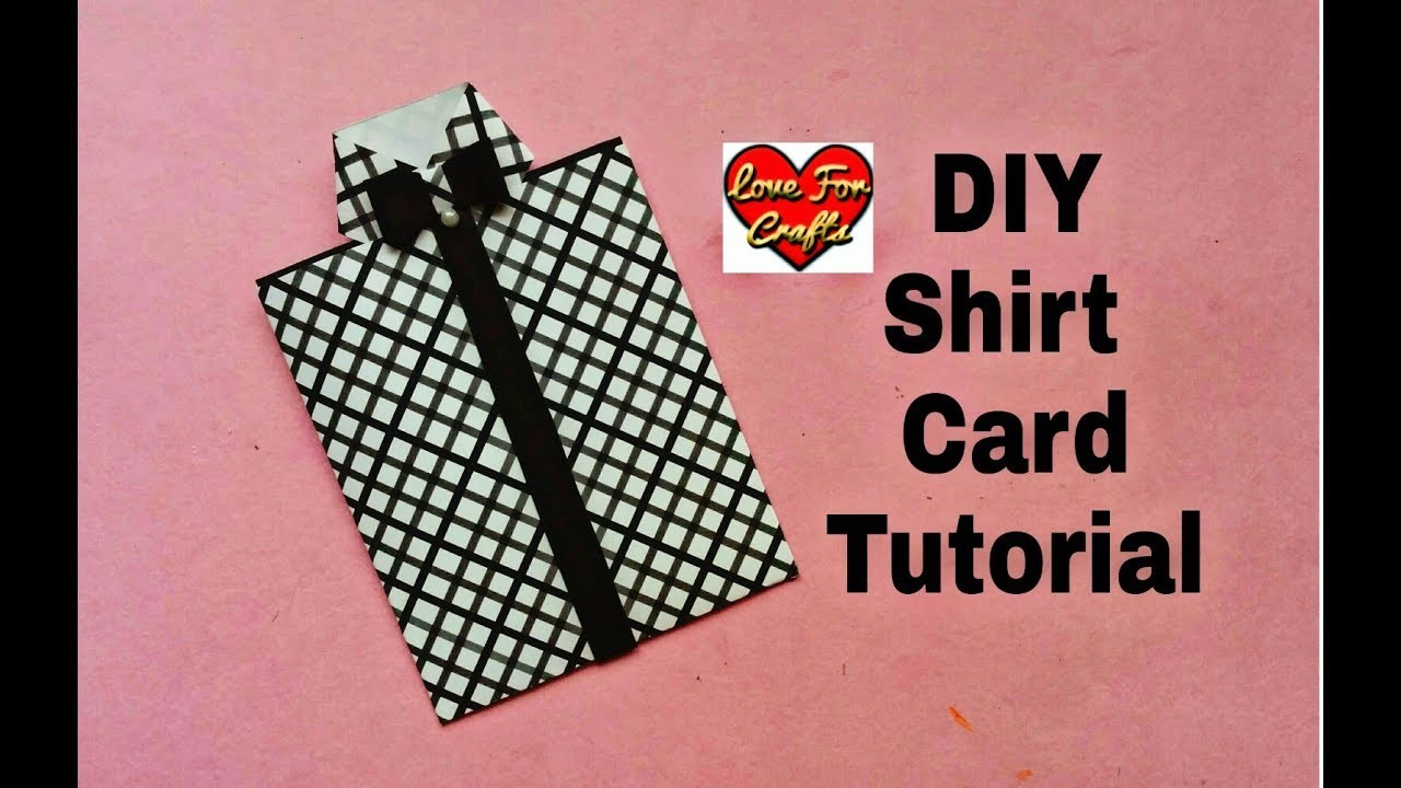 Easy Handmade Greeting Card | DIY Father's Day Gift Idea | How to Make Shirt Card