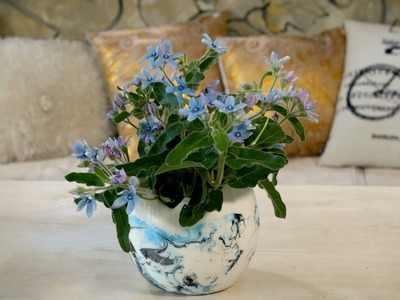 Floristry Tutorial: How to use Blue Tweedia Flowers