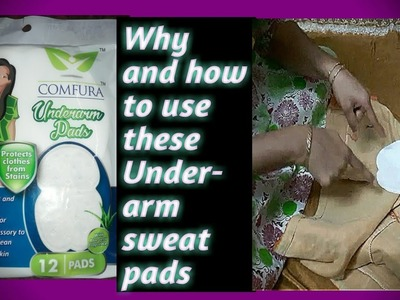High - end Hygiene - Underarm Sweat pads. Why and How to Use these pads---Review in telugu