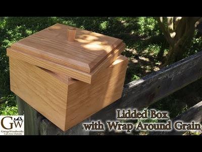 How I Made a Lidded Box