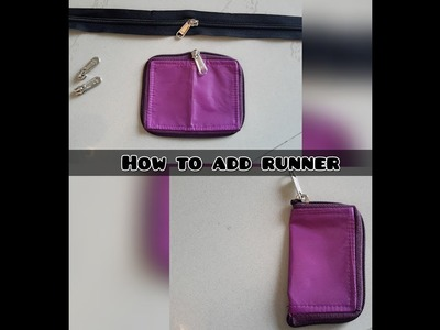 How to add a runner