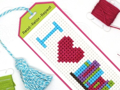 How to Create a Bookmark Tassel for the Cross-Stitch Bookmark Die-namics