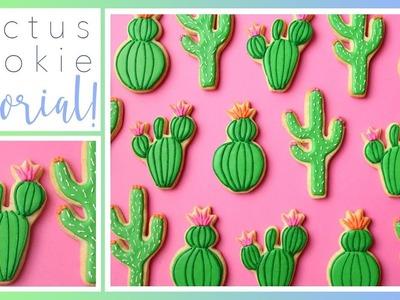 How To Decorate Cactus Cookies!