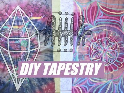 ☯How to: DIY Tapestry☯