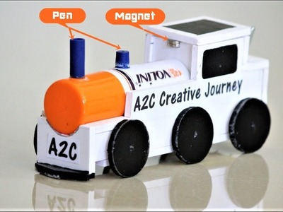 How to make a DC Motor TRAIN