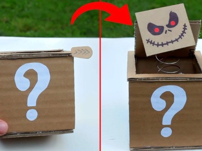 How to Make Box With a Surprise | Jack in the Box | How to Make Magix Box