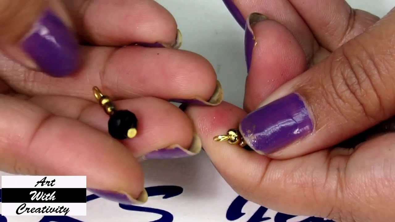 HOW TO: make bracelet   Simple and easy   Art with Creativity