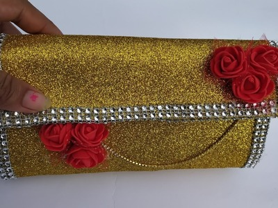 How to make hand purse or clutch bag