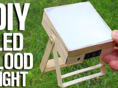 How To Make Led Flood Light