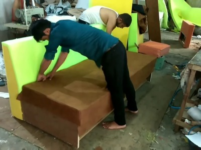 How to make sofa? china imported machanism sofa cumbed ! TUTORIAL !