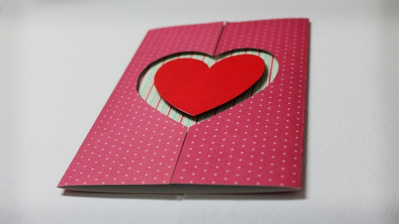 How to make valentine cards homemade greeting card ideas m4hsunfo