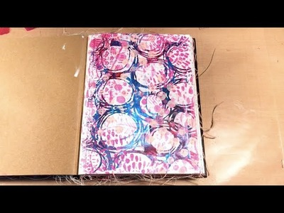 How to re-work an Art Journal Page