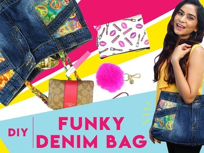 How To Recycle Old Shorts Into A Funky Denim Bag | Hauterfly