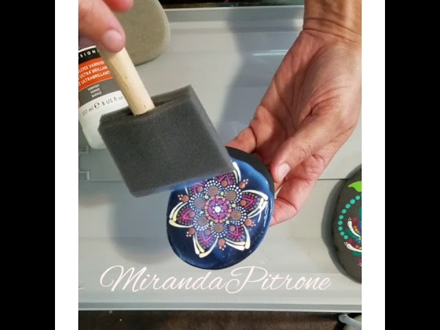 How to seal your painted rocks - with MirandaPitrone