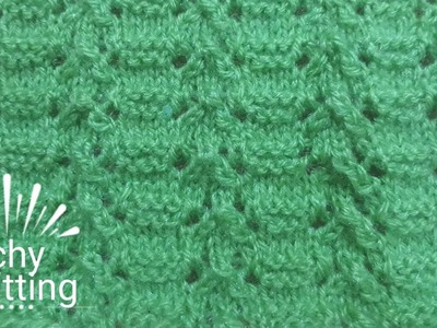Knitting pattern in an easy way #30 with description in English.