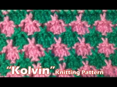 Kolvin Beautiful Knitting pattern Design 2018