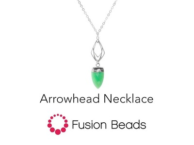 Learn how to create the Arrowhead Necklace by Fusion Beads