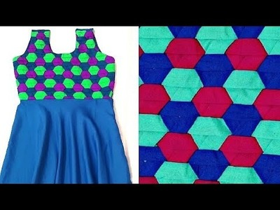 New Design dress girl Frock cutting stitching Making.weaving.knitting. pattern.vestido day cat may