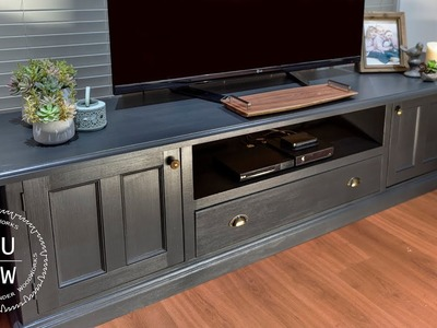 Upcycling.remodelling old furniture - How to. #1-TV unit