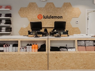 We Built Out A Lululemon Store! | How To Make OSB Furniture