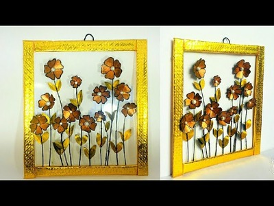 3D Frame | How To Make Photo Frame | DIY | Ton Daisy Flowers | #WallDecor #PunekarSneha.