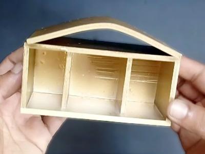 DIY Desk Organizer Ideas | DIY Business Card Holder | How To Make Card.Pen Holder