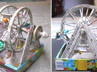 DIY How to Make Ferris Wheel | Homemade Ferris wheel move
