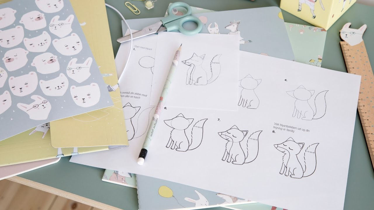 DIY : Learn how to draw with Anna and Clara