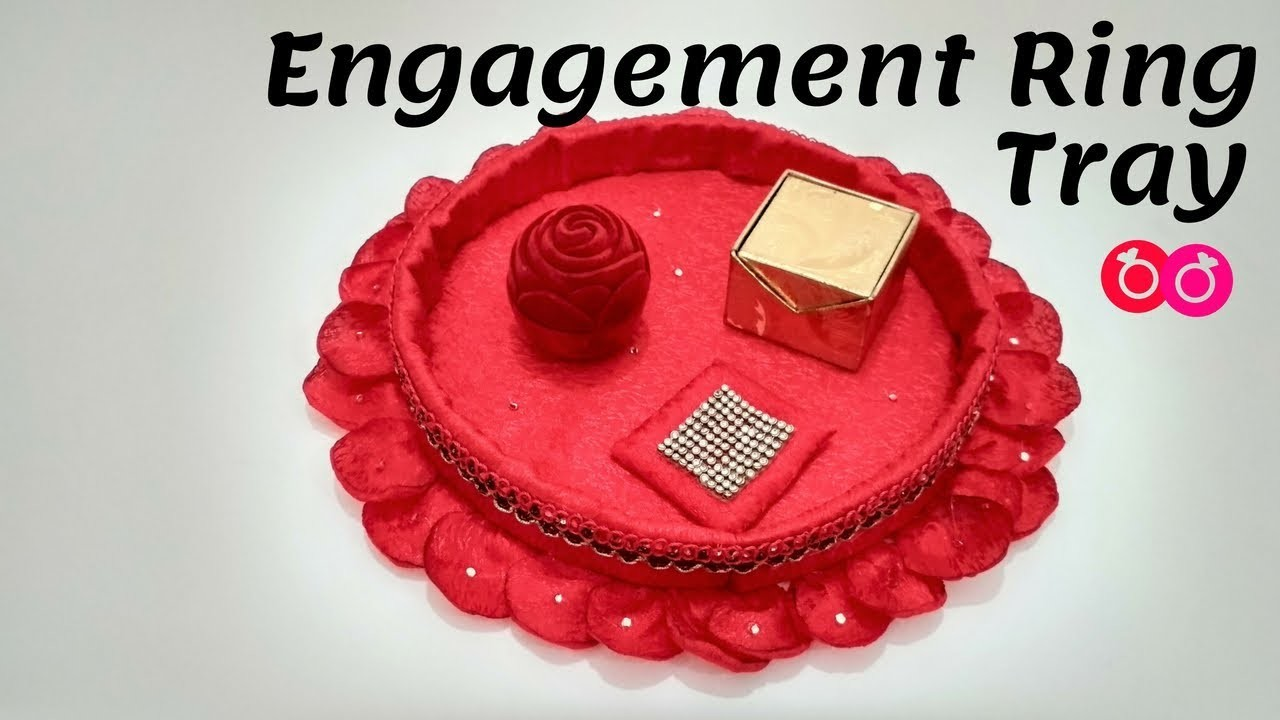 Handmade Engagement Ring Tray Decoration How To Make Decorative